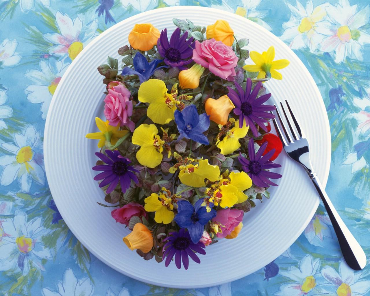 壁纸1280×1024花艺大餐 2 16壁纸 花艺大餐壁纸图片花卉壁纸花卉图片素材桌面壁纸