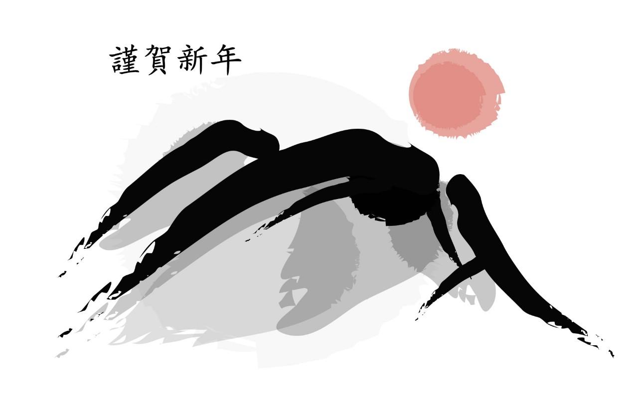 壁纸1280×800墨染-新年 1 14壁纸 手绘其他 墨染-新年 第一辑壁纸图片绘画壁纸绘画图片素材桌面壁纸