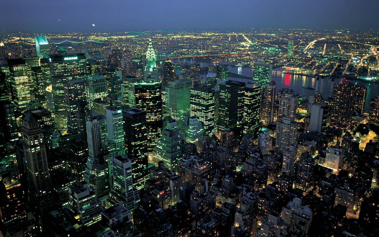 壁纸1440×900纽约建筑 1 15壁纸,各国建筑 纽约建筑 第