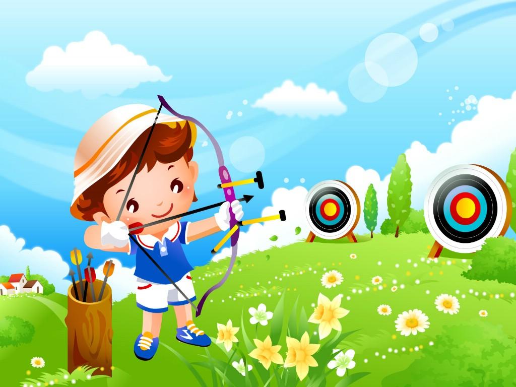 壁纸1024×768儿童运动会 2 8壁纸 儿童运动会壁纸图片矢量壁纸矢量图片素材桌面壁纸