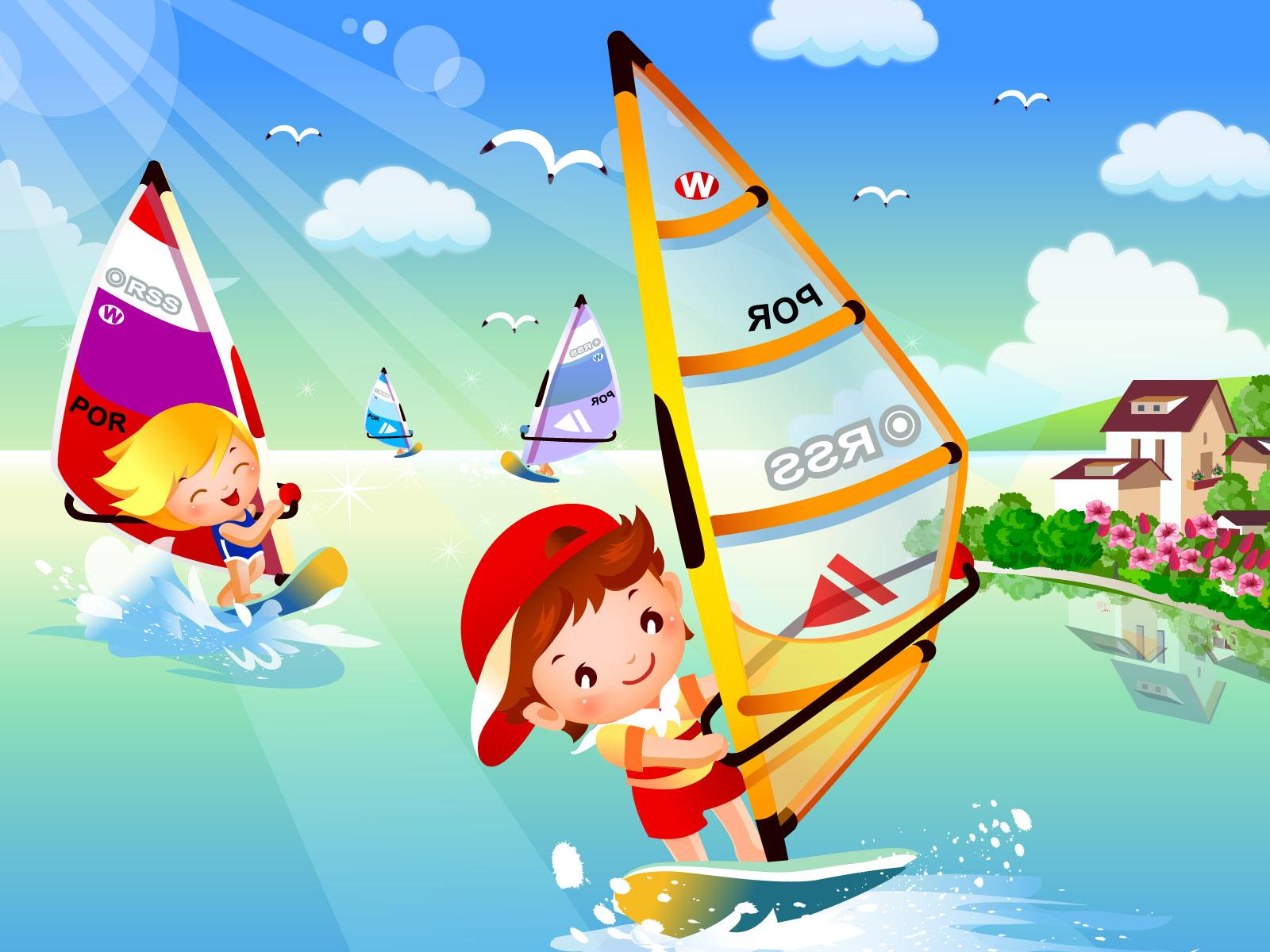 壁纸1600×1200儿童运动会 2 1壁纸 儿童运动会壁纸图片矢量壁纸矢量图片素材桌面壁纸
