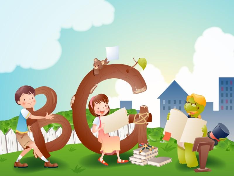 壁纸800×600快乐暑假 2 7壁纸 快乐暑假壁纸图片矢量壁纸矢量图片素材桌面壁纸