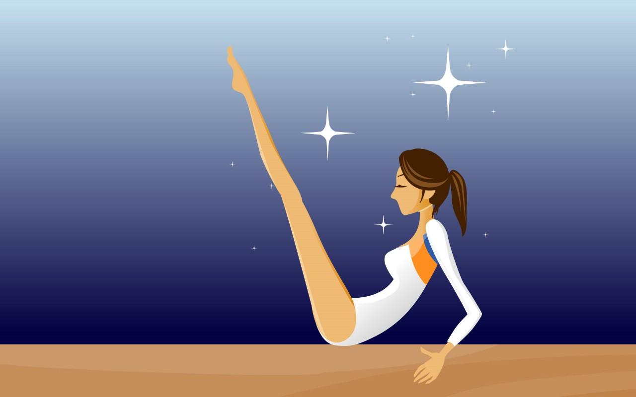 壁纸1280×800女性休闲运动 2 16壁纸 女性休闲运动壁纸图片矢量壁纸矢量图片素材桌面壁纸