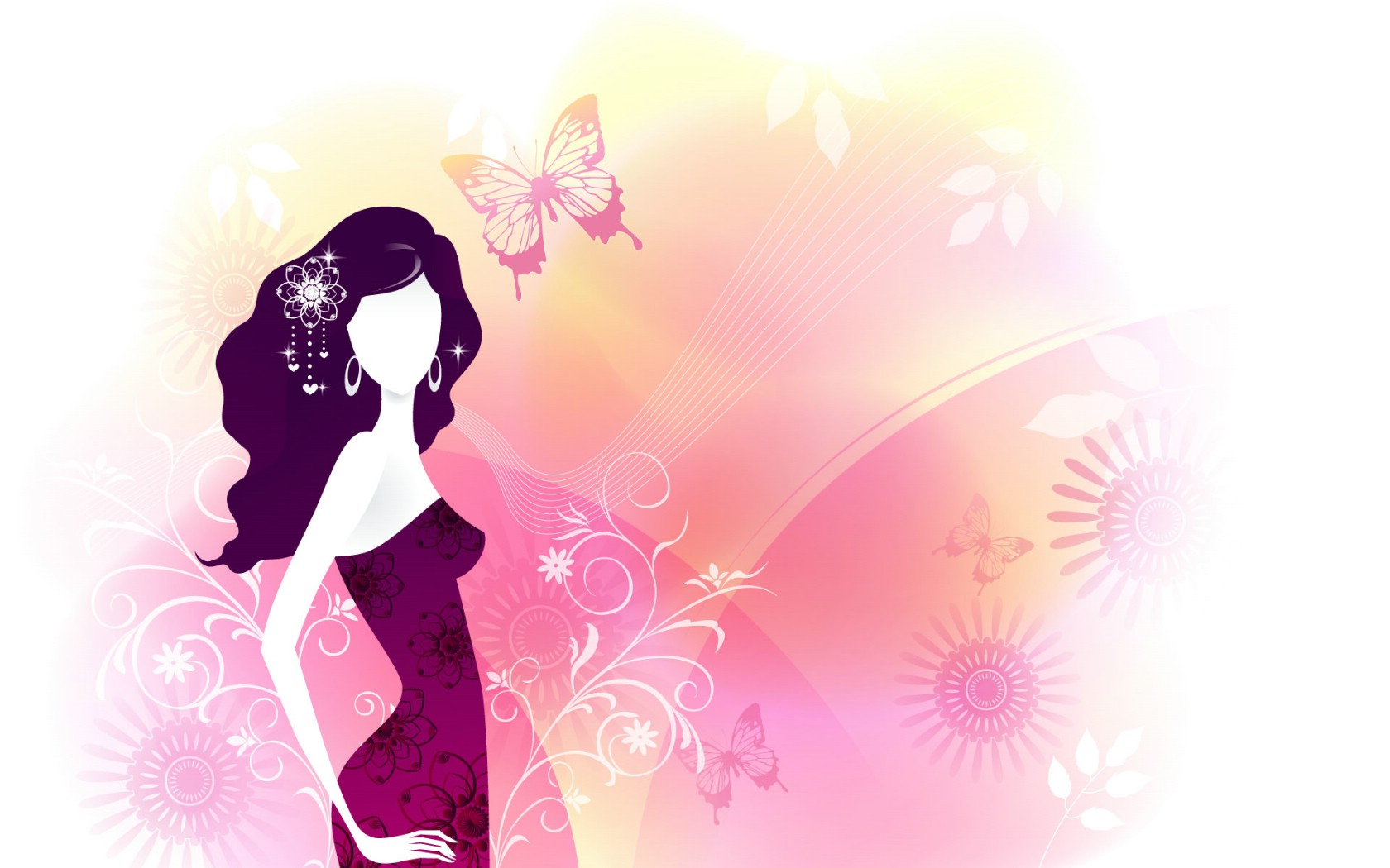 wallpaper girl vector reptile - photo #12