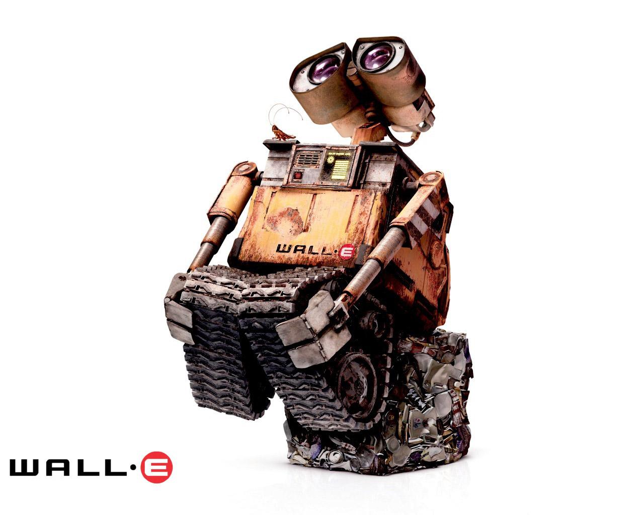 1024机器人总动员 25壁纸,三维动画 机器人总动员