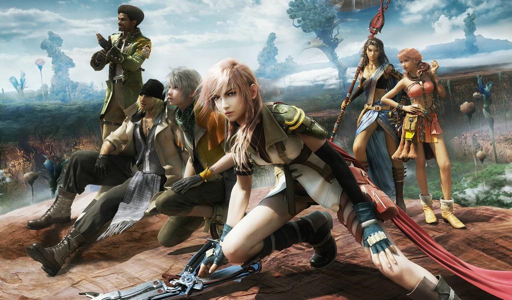 最终幻想 最新游戏合集720游戏图片素材