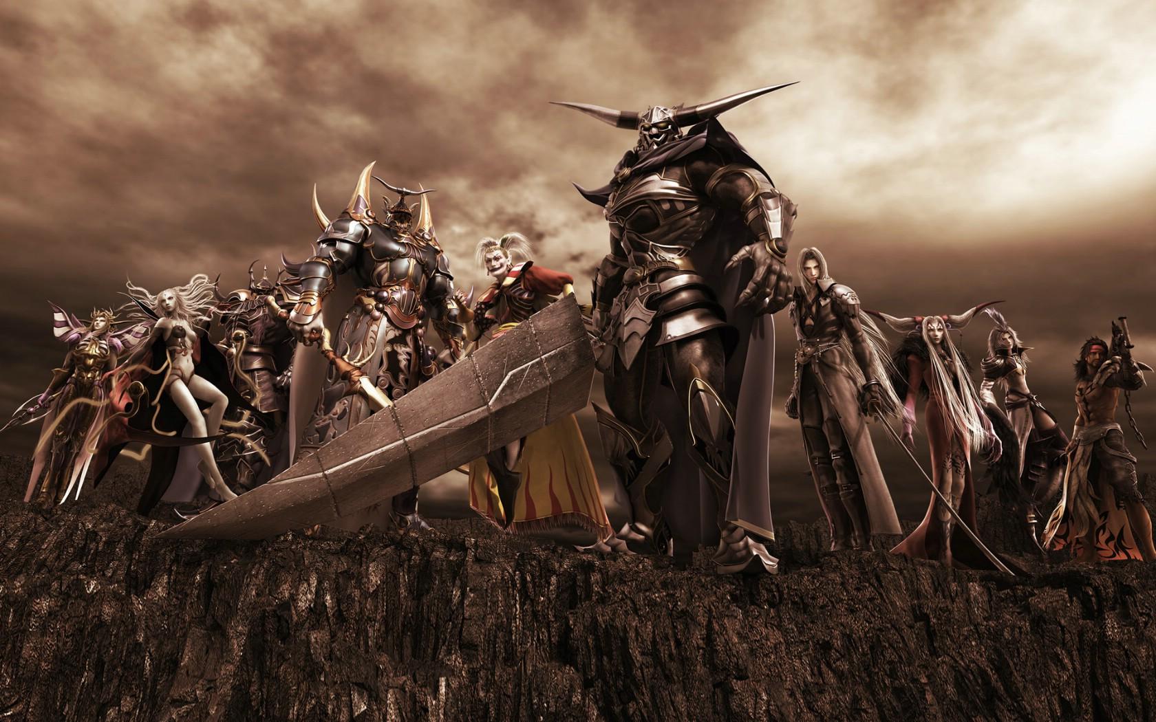 1050最终幻想系列 4 4壁纸,最终幻想系列壁纸图片